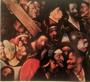 Босх. Несение креста. Фрагмент