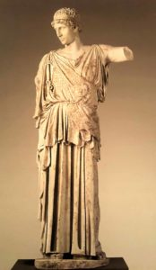Афина. 1 век н.э. по оригиналу 450-440 годов до н.э.