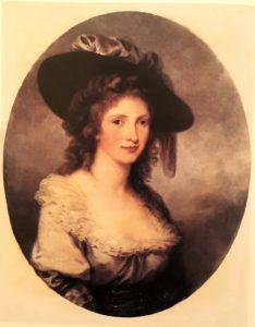 А.Кауфман. Портрет дамы (Автопортрет). 1780-ые. Эрмитаж. Петербург. Хороша, а теперь мысленно представим ее с факелом