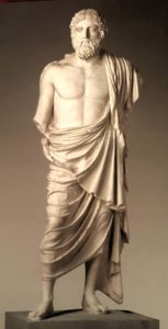 Зевс, король богов, 120-130 годы до н.э. по оригиналу Фидия
