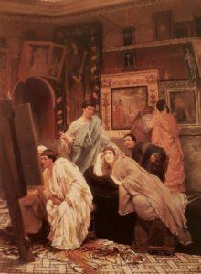 Альма -Тадема. Коллекция картин. 1867. Частная коллекция
