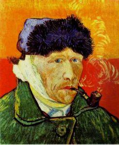 Ван Гог. Автопортрет. 1889