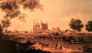 Каналетто. Капелла колледжа в Итоне. 1754. Национальная галерея. Лондон. Знал бы он, чем занимаются выпускники Итона