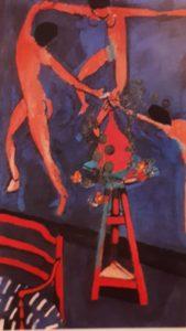Матисс. Танец вокруг настурций. 1912