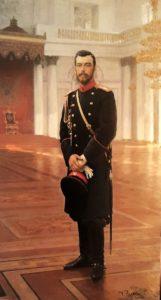 Репин. Портрет Николая II. 1896. Русский музей. Санкт-Петербург