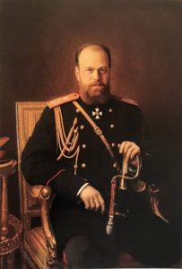 Крамской. Портрет Александра III. 1886. Русский музей. Санкт-Петербург
