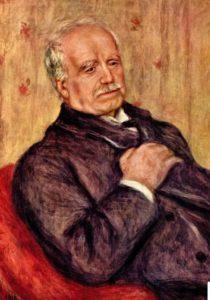 О.Ренуар. Портрет Дюранр-Рюэля, 1910