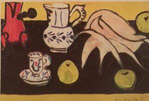 Матисс. Натюрморт с раковиной. 1940