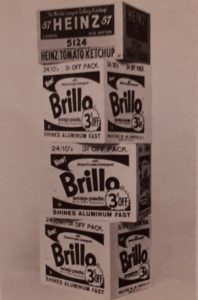 Энди Уорхл (1928-1987). Brillo boxes (коробки). 1964. Поп-арт