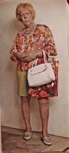 Дуэйн Хансон. Покупательница из Флориды. 1973. Суперреализм