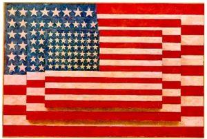 Джаспер Джонс. Три флага