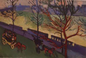Андре Дерен. Вид Темзы. 1905. Автор-вдохновитель – А.Воллар