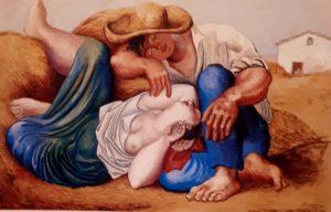 Пикассо. Спящие крестьяне. 1919