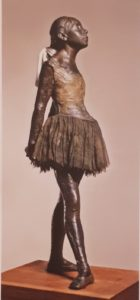 Дега. Маленькая четырнадцатилетняя танцовщица. 1880-1881