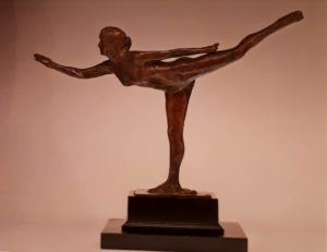 Дега. Танцовщица, арабеск на правой ноге. 1882-1885