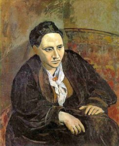 Пикассо. Гертруда Стайн. 1906. Что с ее глазами и не только глазами?