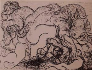 Пикассо. Сюита Воллара № 87. 1933