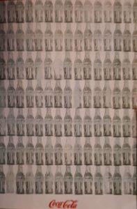 Энди Уорхл. Зеленые бутылки кока-колы. 1962