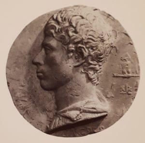 Бартолини. Медаль с изображением Энгра