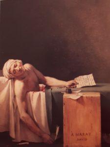 Давид. Смерть Марата. 1793. Королевские музеи изящных искусств. Брюссель. Бельгия
