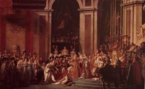 Давид. Коронация Наполеона I и императрицы Жозефины. 1807. Лувр. Париж