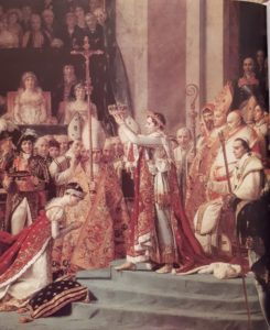 Давид. Коронация Наполеона. Фрагмент
