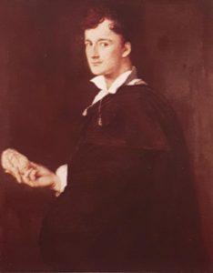 Энгр. Портрет Бартолини. Монтабан. Музей Энгра. 1806. С кривой улыбкой