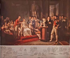 Пьетро Бенвенутти. Великая герцогиня Тосканская Элиза и ее двор. 1813. Версаль. Национальный музей