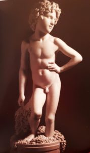 Бартолини. Фрагмент «Мальчика, давящего виноград»