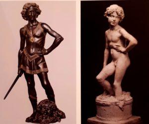 Справа: Верроккьо. Давид. Справа: гипсовый «Мальчик» в Галерее Академии во Флоренции. Кто посмеет сказать, что Бартолини не видел Верроккьо?!