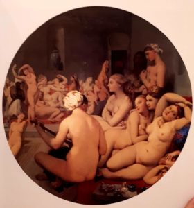 Энгр. Турецкая баня. 1862. Картина передана Лувру в 1911. Энгру 82 года