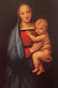Рафаэль. Мадонна дель Грандука. Примерно 1506. Галерея Палатина в Палаццо Питти. Флоренция