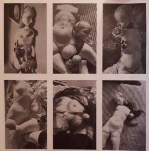 Ганс Белмер. Кукла.1934. Шесть фотографий разных позиций