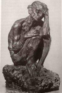 А.С.Голубкина. Старость. 1898. Гипс