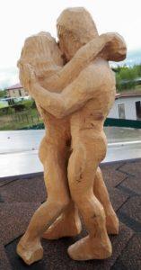Танго. Примерно 1972 год. Испорчена малоценная древесина
