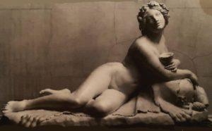 Луиджи Бьенеме. Вакханка. 1838. Эрмитаж. Санкт-Петербург. Вакханка совсем пьяненькая