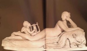 Канова. Лежащая Наяда с Амуром. 1815-1817
