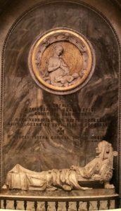 Бартолини. Монумент Софии Чарторыйской Замойской. 1837-1844. Мрамор. Собор Санта-Кроче. Флоренция