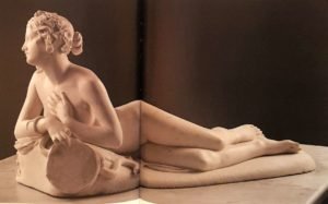 Бартолини. Отдыхающая вакханка (Дирка). Мрамор. 1824. Лувр. Париж