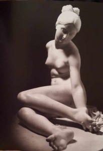 Второй экземпляр. Бартолини. Нимфа, ужаленная скорпионом. Мрамор. 1852. Государственный Эрмитаж. Санкт-Петербург