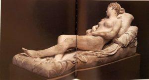 Бартолини. Венера Тициана. Модель из гипса 1822 г. Галерея Академии художеств. Флоренция