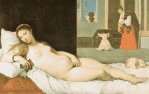 Энгр. Лежащая Венера (копия с «Венеры Урбинской» Тициана). 1822. Художественный музей Уолтерса, Балтимор