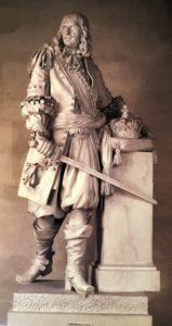 Пажу. Маршал Тюренн. 1783. Мрамор. Версаль. Национальный музей замка. В те времена у Франции были победоносные маршалы: при Людовике XIV (примерно 1670-ые)