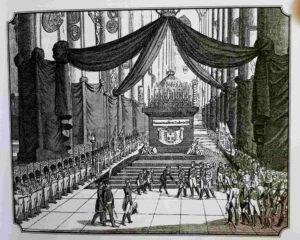 Венский конгресс. Торжественная панихида по королю Людовику XVI 21 января 1815