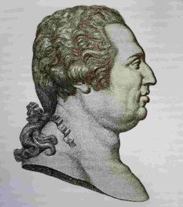 Профиль короля Франции Людовика XVIII. Гравюра 1814