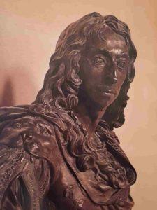 Антуан Куазевокс (1640-1720). Великий Конде. Это портрет сделан еще до Фронды одним из любимых скульпторов Людовика XIV