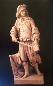 Гудон. Маршал де Турвиль. 1781