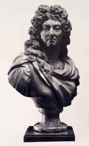 Буазо. Людовик XIV. Мрамор. 1784. Гос.Эрмитаж. Санкт-Петербург. Высота 0,89 метра