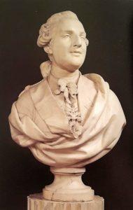 Буазо. Людовик XVI. Надпись на задней стороне бюста: Буазо 1777. Мрамор. Версаль. Национальный музей замка