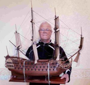 Фанцузский военный корабль «Le Furieux» времен Людовика XIV